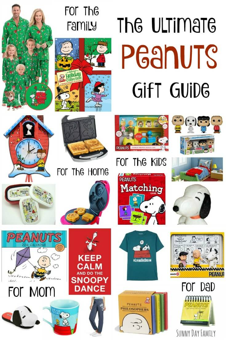 20 awesome Christmas gift ideas for Peanuts fans! Find a gift for everyone on your list (including the dog) with this Peanuts gift guide.