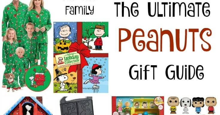 The Ultimate Peanuts Gift Guide 20 Gift Ideas For Peanuts Fans Sunny Day Family