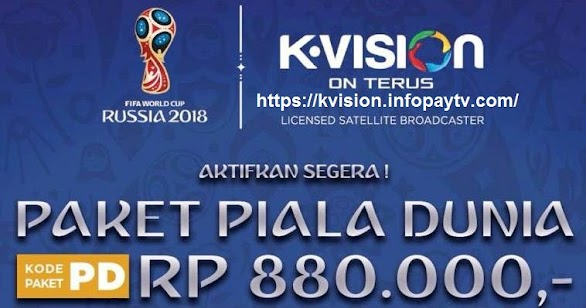 Voucher K Vision Piala Dunia Rusia 2018