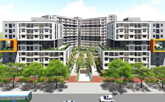 Nhà ở xã hội chung cư Thăng Long Green City CT3-CT4 Kim Chung Đông Anh