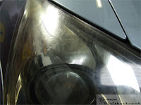 Tetbury Lexus - Headlight Oxidisation