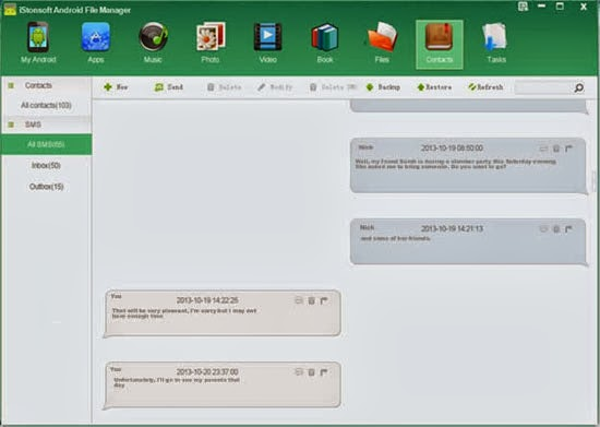 How to print Text Messages from Android Phone on Mac/Windows