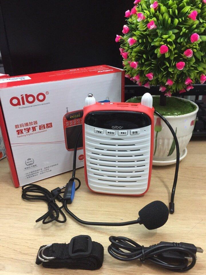 Loa nghe nhạc thẻ nhớ, usb, đài FM Aibo UN-72 chính hãng giá sỉ và lẻ rẻ nhất 01800