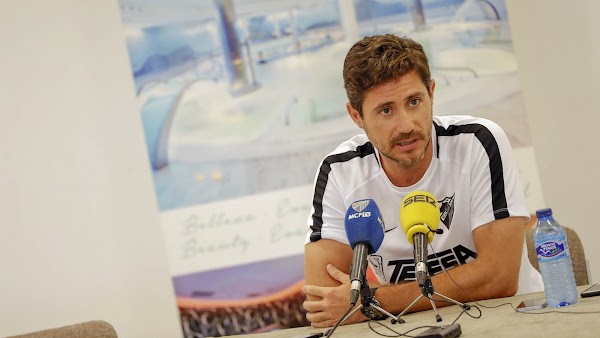 """Víctor Sánchez - Málaga -: """"Nosotros estamos igual de preocupados que confiados"""""""