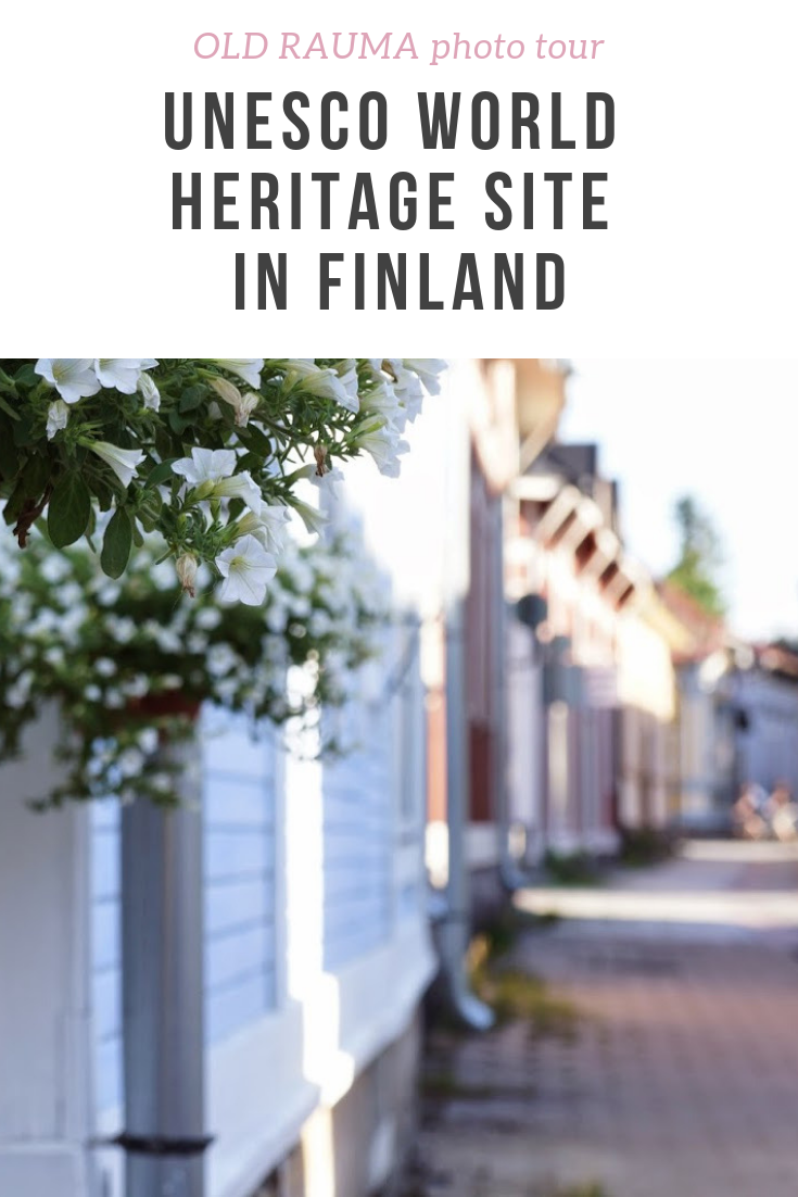 A photo tour of Old Rauma - a Unesco World Heritage site in Finland. A beautiful sunny summer day in Old Rauma - lots of pictures of what you can find there.