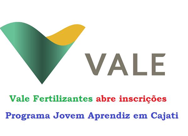 Vale Fertilizantes abre inscrições para o Programa Jovem Aprendiz em Cajati