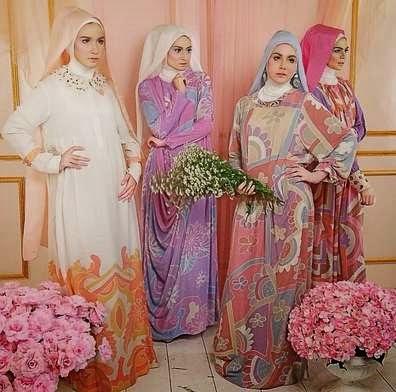 Contoh Baju Muslim Dian Pelangi Gamis Terpopuler