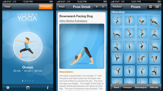 Pocket Yoga Android Applications For Health
