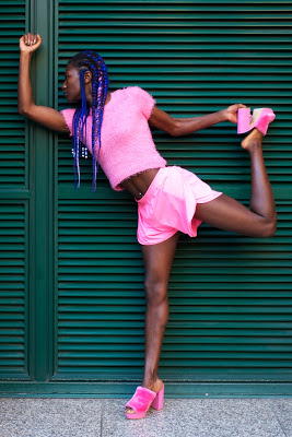 fashion photography london grace jones pose