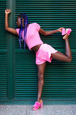 fashion photography london grace jones pose