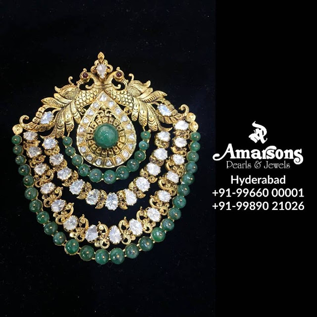 Uncut Diamond Polki Sets by Amarsons