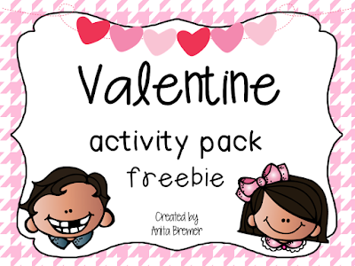 Valentine's Day FREEBIE pack