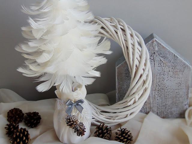 zimowa dekoracja świąteczna