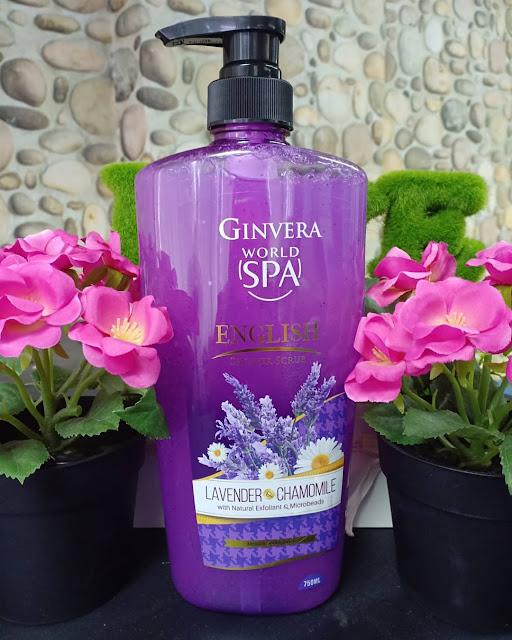 Ginvera World Spa Lavender Shower Scrub