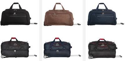 Bolsas de viaje ligeras para escapadas o viajes cortos