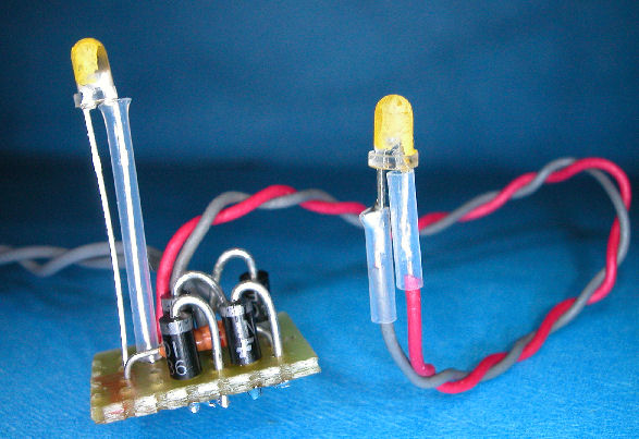 If You Want To Increase The Voltage Spacing Between The Leds You Can