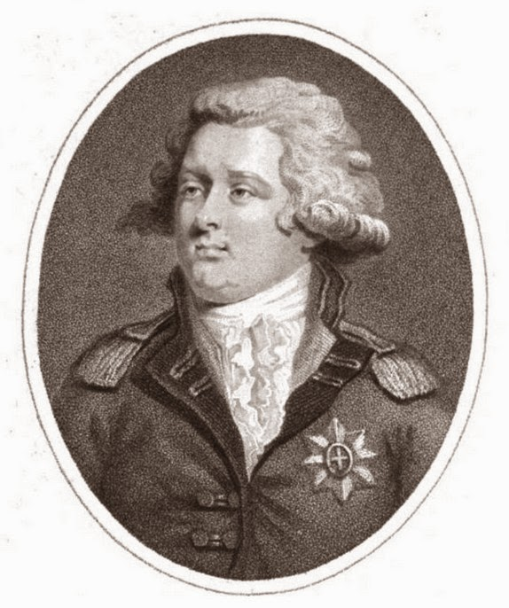 George, Prince of Wales,  from The Lady's Magazine (Feb 1792)