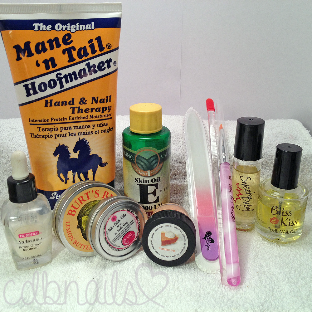 10 Step Nail Care Routine