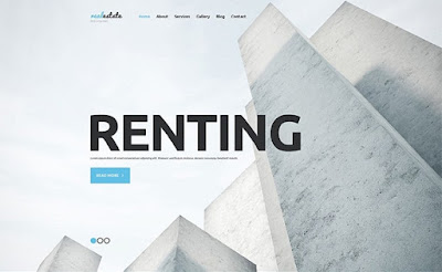 Renting WordPress Theme