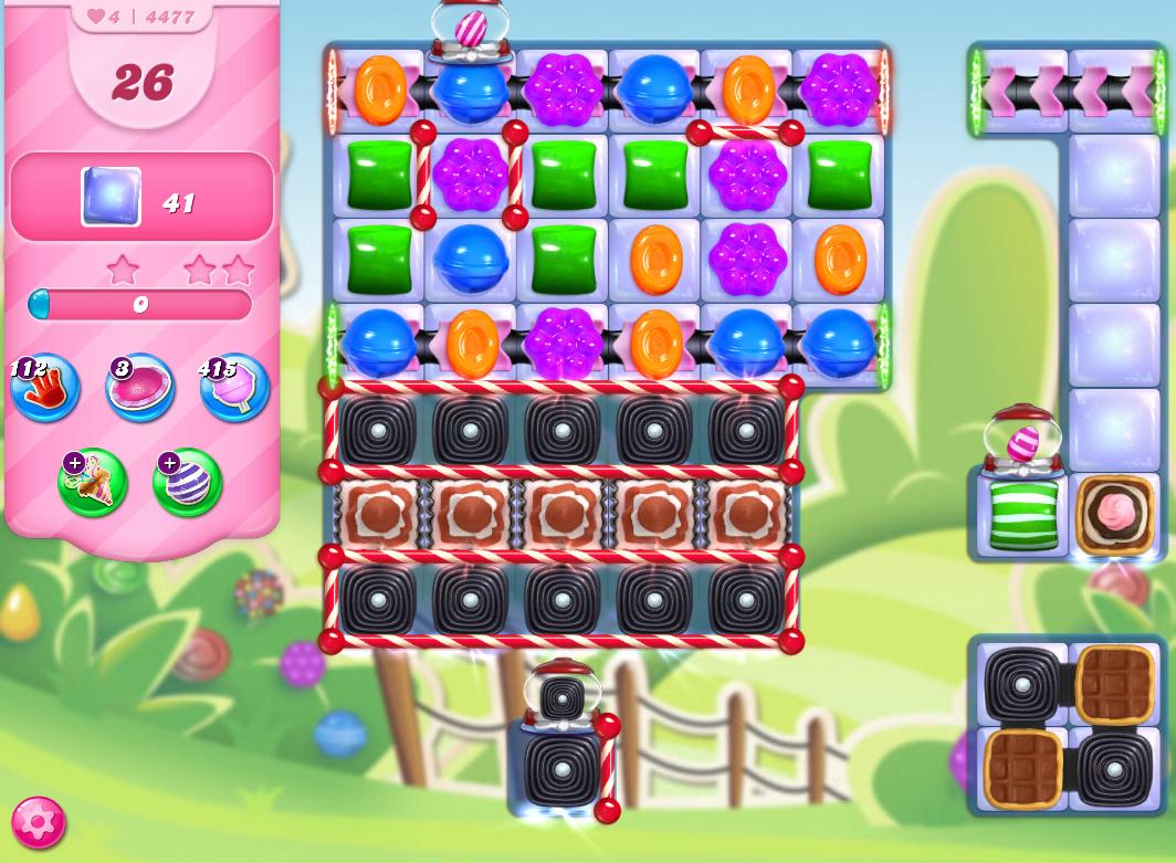 Candy Crush Saga level 4477