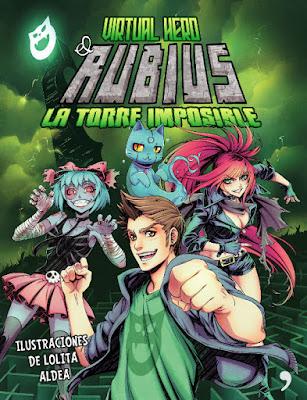 COMIC - El Rubius : Virtual Hero 2 La torre imposible Lolita Aldea (Temas de Hoy - 7 Junio 2016) LIBRO JUVENIL - YOUTUBER | A partir de 14 años Comprar en Amazon España