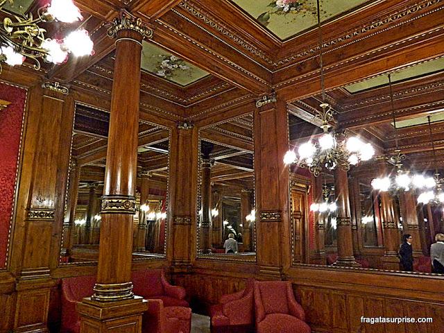 Sala dos Espelhos, Teatro Massimo, Palermo, Sicília