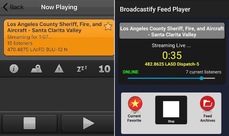 Los Angeles County Sheriff, Fire, and Aircraft - Santa