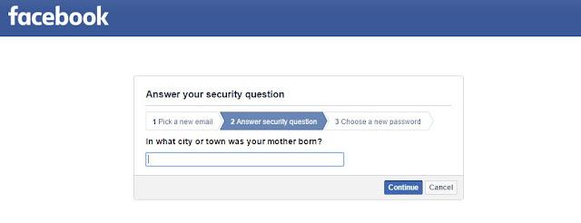 سؤال الامان في الفيسبوك