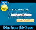 Cara Cek Dan Mengatasi Broken Link Di Blog