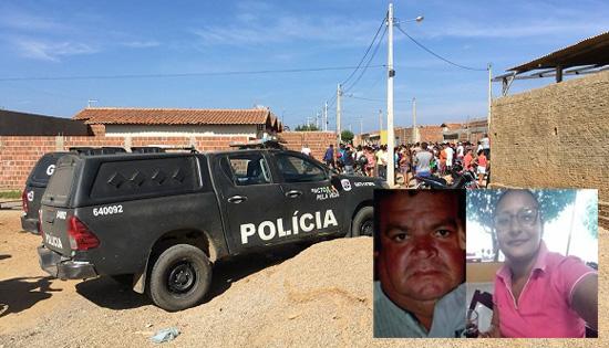Homem mata ex-esposa em Serra Talhada, fere cunhado com golpes de faca e corta os pulsos