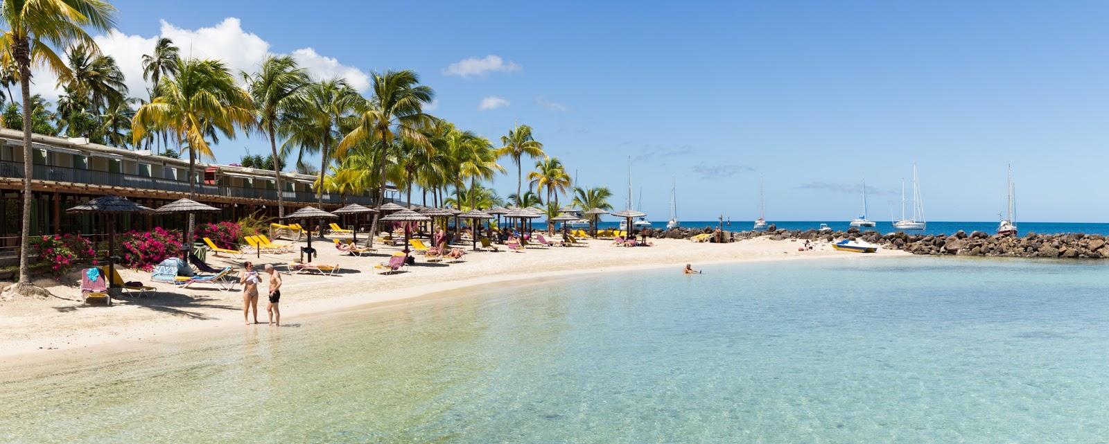 plage privée Trois Ilets Martinique