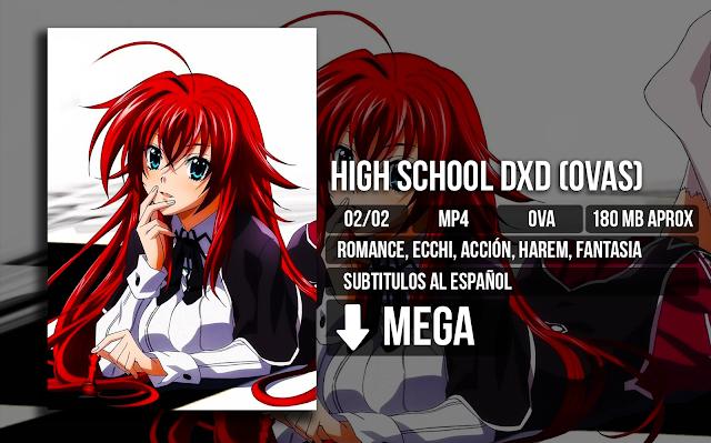 High%2BSchool%2BDxd%2B%2528Ovas%2529 - High School DxD (Ovas) [MP4][MEGA][02/02] - Anime no Ligero [Descargas]