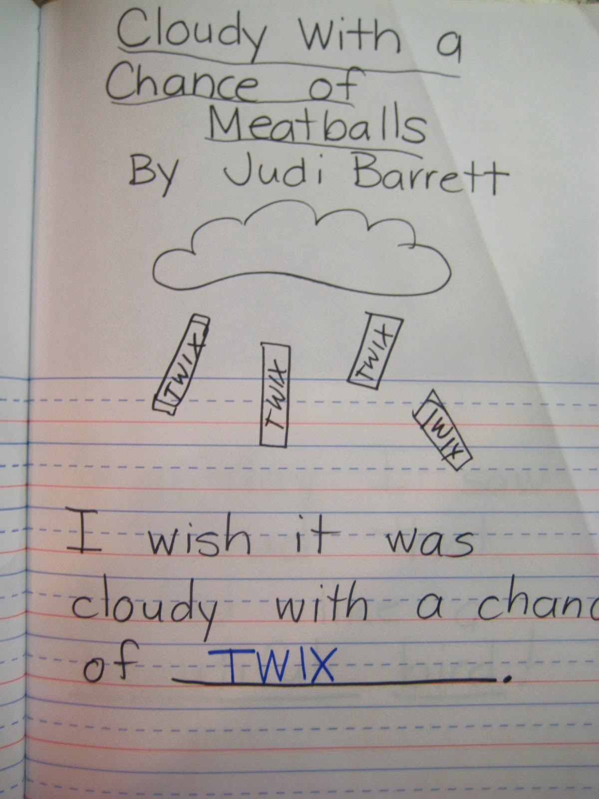 First Grade Wow Reader S Response D5 Work On Writing