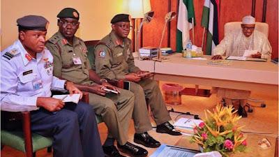 BREAKING: Buhari extends tenure of Service Chiefs