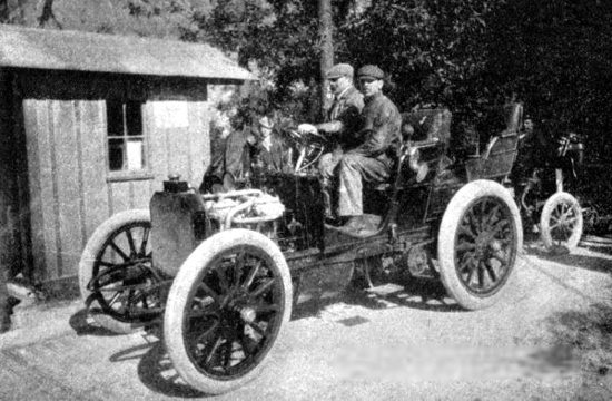 Mercedes 35 PS, Semmering Race, 1901