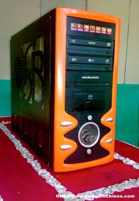 Komputer menggunakan Sasis (Kesing) Tower