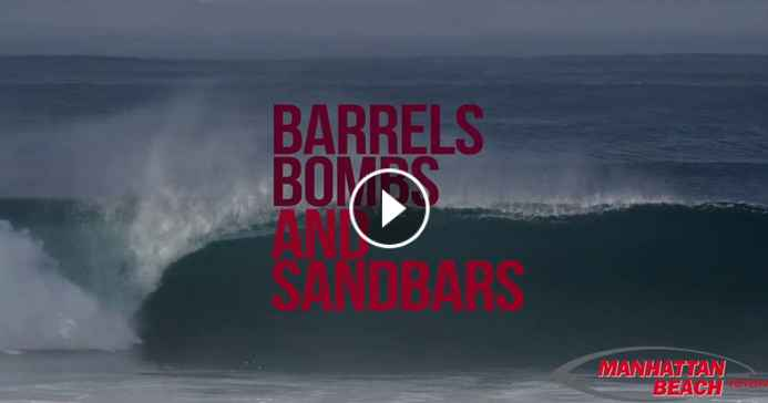 Barrels Bombs and Sand Bars Another Surf Swell Hits Los Angeles