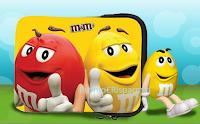Logo Vinci gratis ogni settimana una custodia per Tablet da M&M's