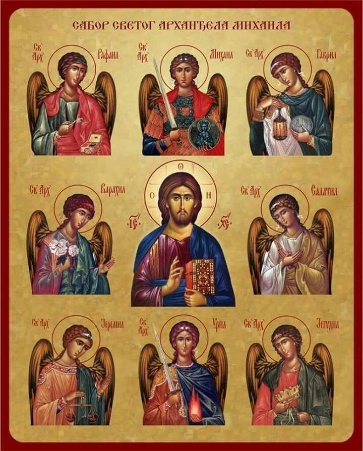 Nomi Arcangeli E Cosa Fanno