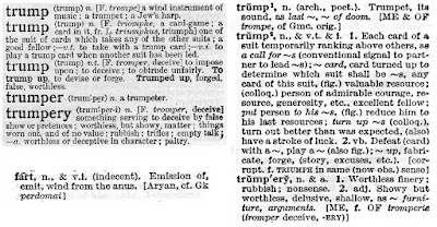 Trump dictionary definition