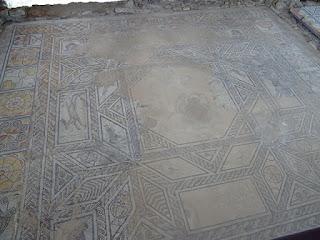 Emblema. Villa romana de Santa Cruz