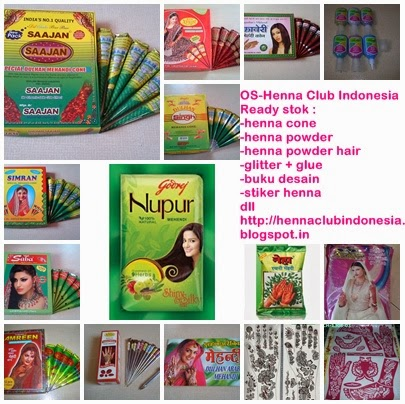 Online Shop Henna Club Indonesia