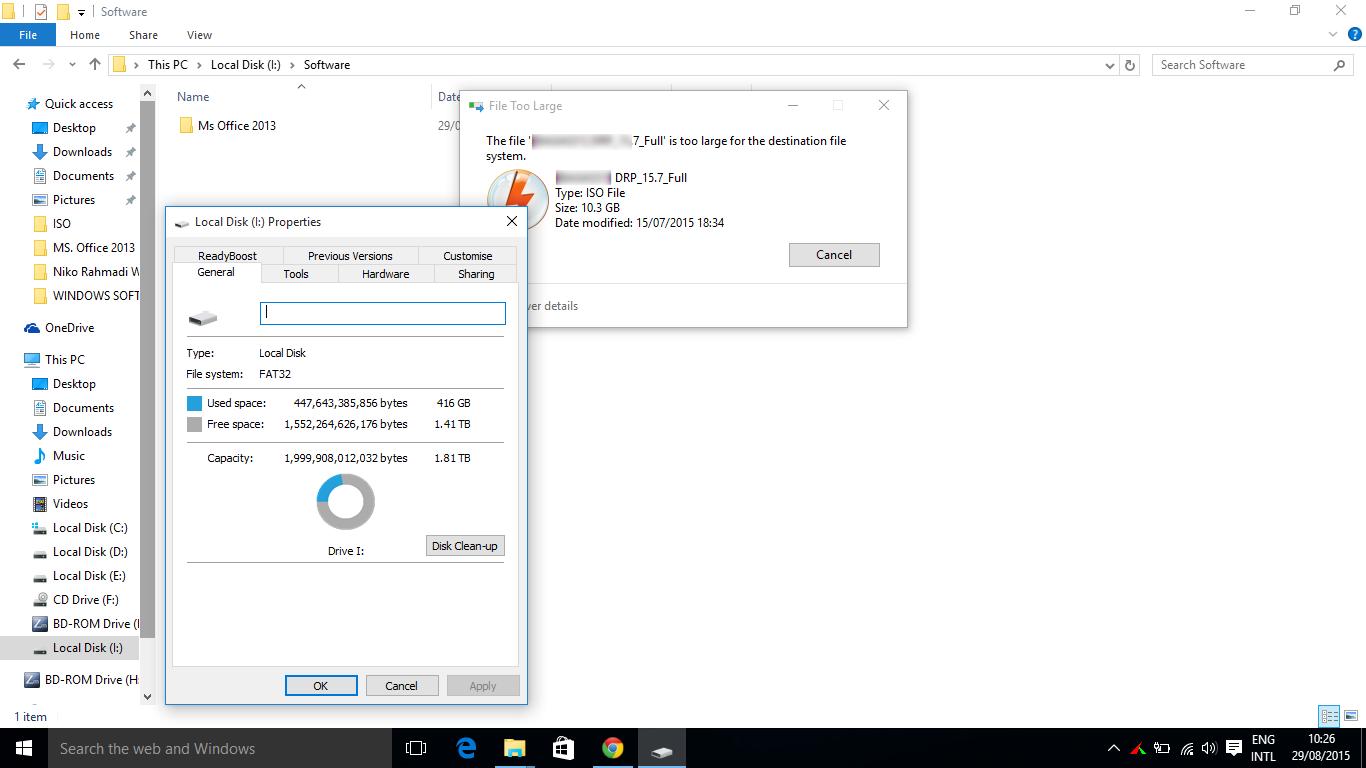 Mengapa File Berukuran Besar Tidak Bisa di-Copy ke Flashdisk ...