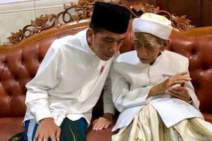Terkait Pilpres 2019, Mbah KH Maimoen Zubair: Ya Harus Ikut Saya