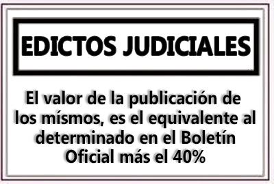 Edictos Judiciales