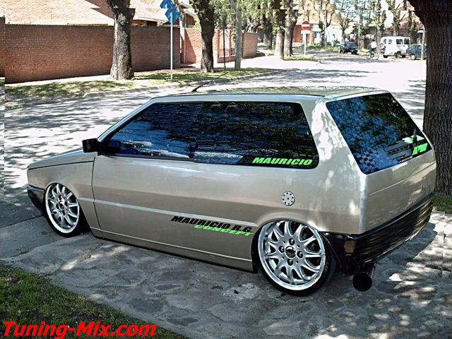 fiat uno turbo ie tuning photoshop tuning virtual tuning. Black Bedroom Furniture Sets. Home Design Ideas