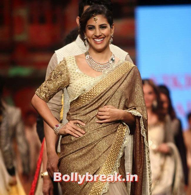 Perizad Kohla, Beautiful Bhagyashree, Gauhar, Tara, Perizad, Divya at Cancer Fundraiser Fashion Show