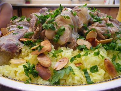 Mansaf Recipe  Arabic Food Recipes