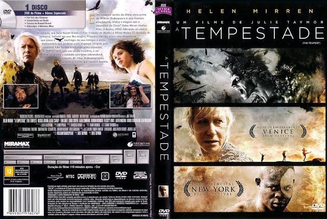 Capa DVD A Tempestade