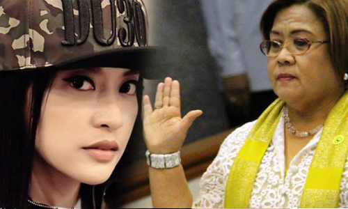 De Lima defends Uson: Don't use her past career, relationships or sexual history to malign her